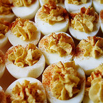 deviled eggs by freakgirl on Flickr