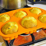 Pumpkin Chocolate Chip Muffins by TrishaLyn on Flickr