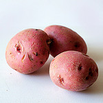 Organic Red Potatoes by artizone on Flickr