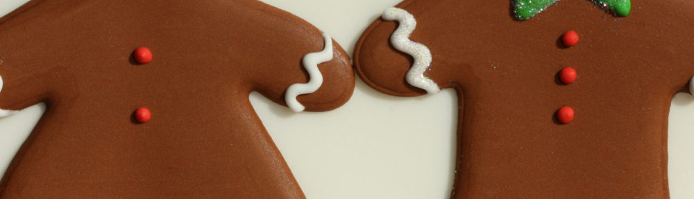 Gingerbread Couple by sweetopia*.